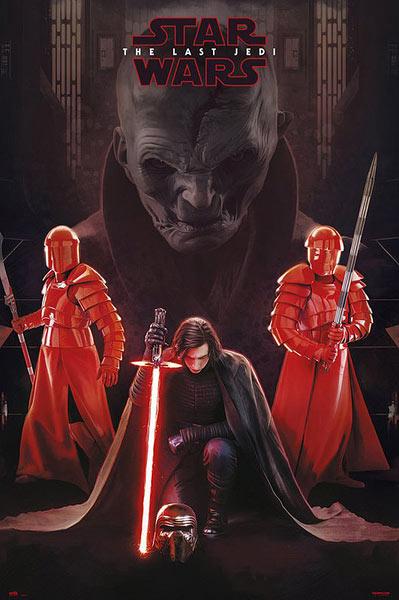 Póster Star Wars: The Last Jedi. Snoke Leader