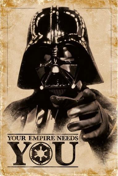 Póster Star Wars. Darth Vader