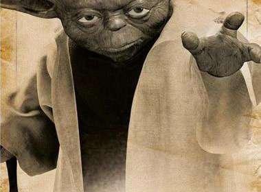 Póster Star Wars. Yoda