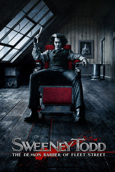 Póster Sweeney Todd