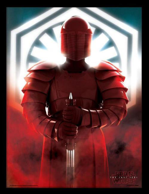 Póster enmarcado Elite Guard. Star Wars: The Last Jedi 45 x 33 cm