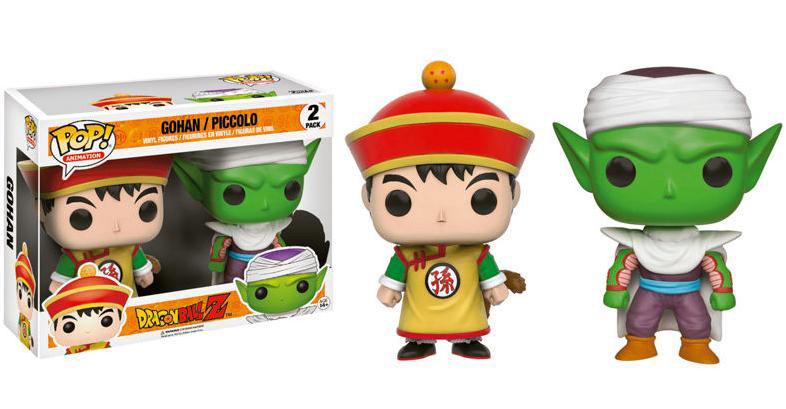 Pack 2 Funko POP Gohan y Piccolo