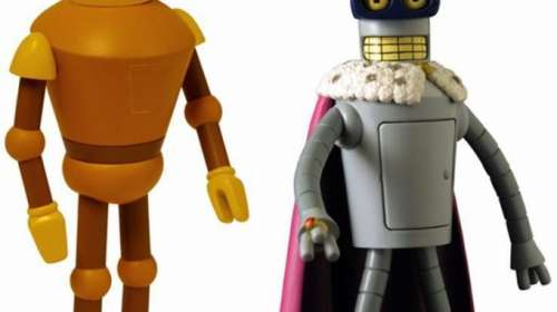 Pack 2 figuras Bender y Calculon