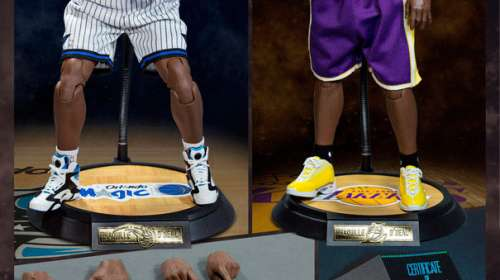 Pack 2 figuras Shaquille O'Neal 37 cm. NBA. Collection Real Masterpiece. Escala 1:6. Enterbay