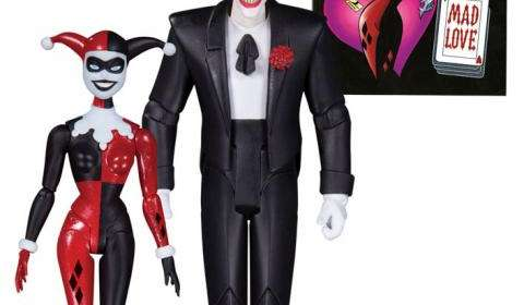 Pack 2 figuras The Joker & Harley Quinn Mad Love 15 cm. Batman: la serie animada. DC Collectibles