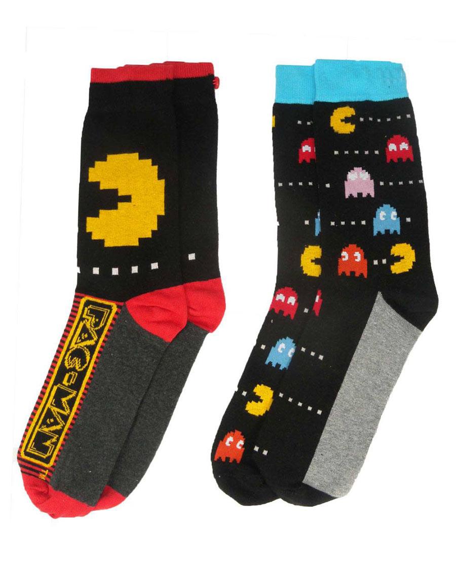 Pack 2 pares de calcetines chico Pac-Man