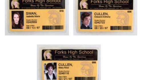 Pack 3 Carnets Estudiante Crepúsculo. Forks High School