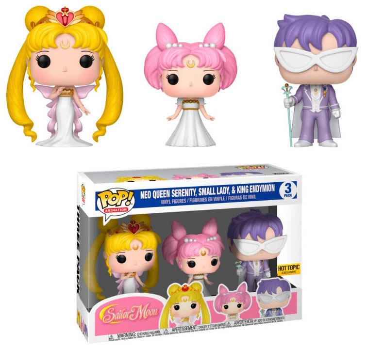 Pack 3 Funko POP Queen Serenity