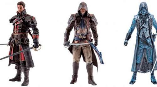 Pack 3 figuras Assassin's Creed