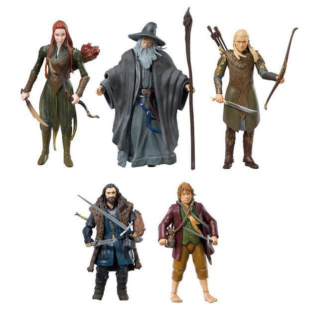 Pack 5 figuras El Hobbit