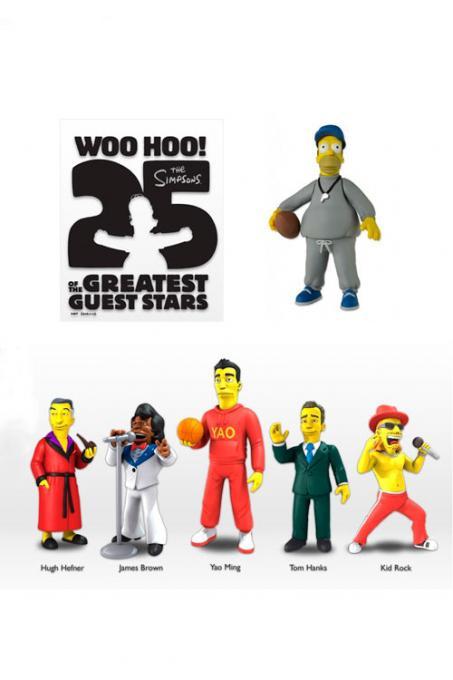 Pack 6 figuras Los Simpson. Greatest Guest Stars