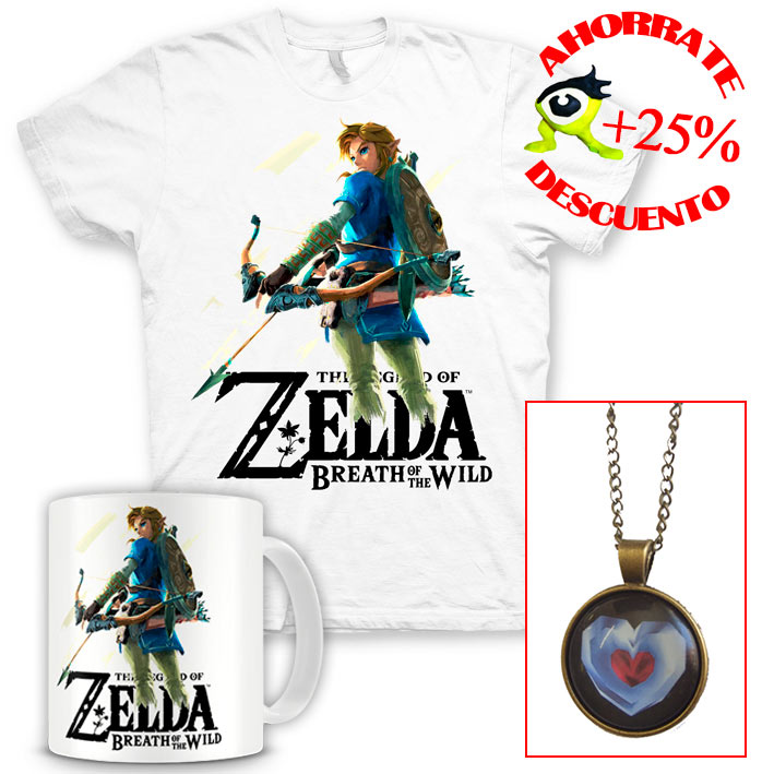 Pack Regalo The Legend of Zelda: Breath of the Wild