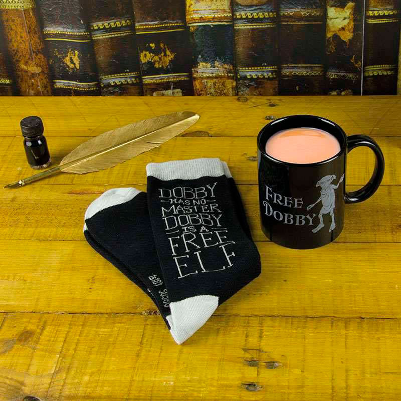 Pack Taza y Calcetines Free Dobby Harry Potter