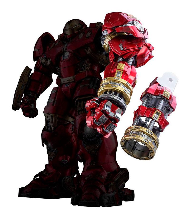 Pack accesorios para Hulkbuster 35 cm. Los Vengadores: la era de Ultrón. Movie Masterpiece. Con luz. Escala 1:6. Hot Toys