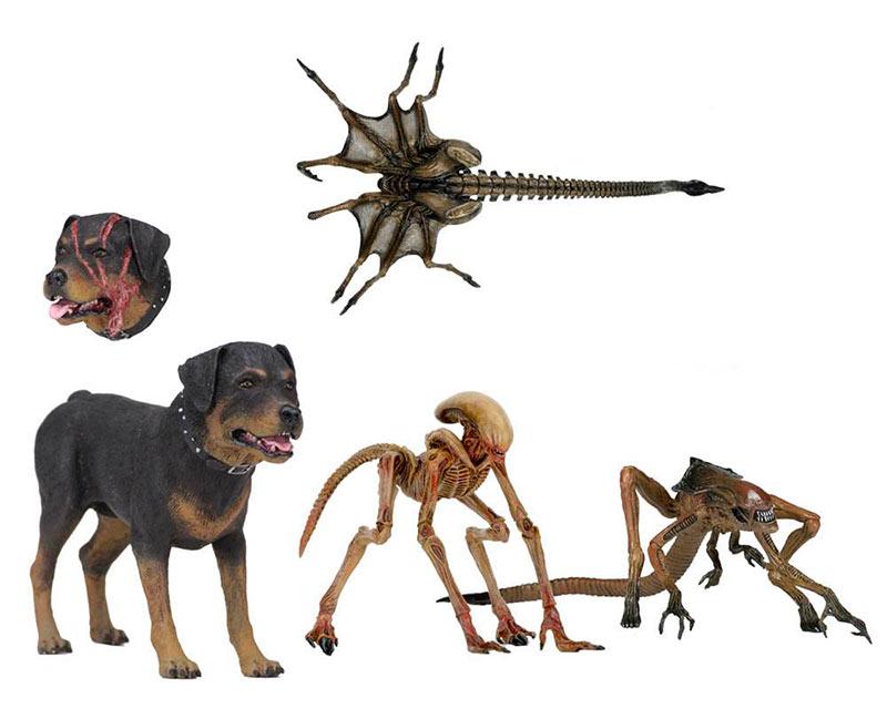 Pack accesorios para figuras de Alien 3