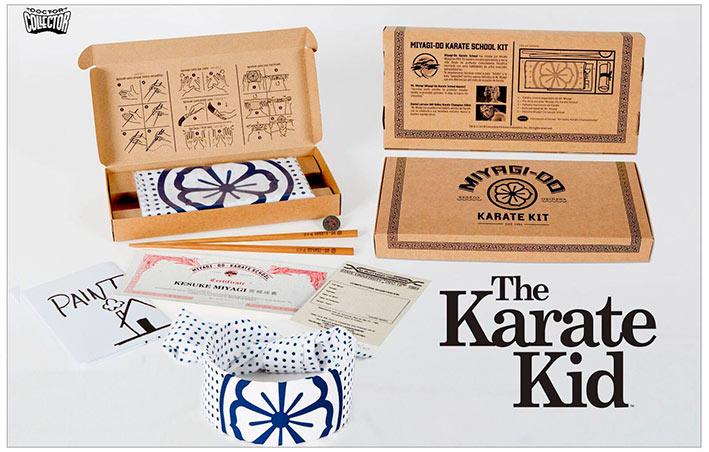Pack regalo Karate Kid Miyagi-Do Karate School Kit