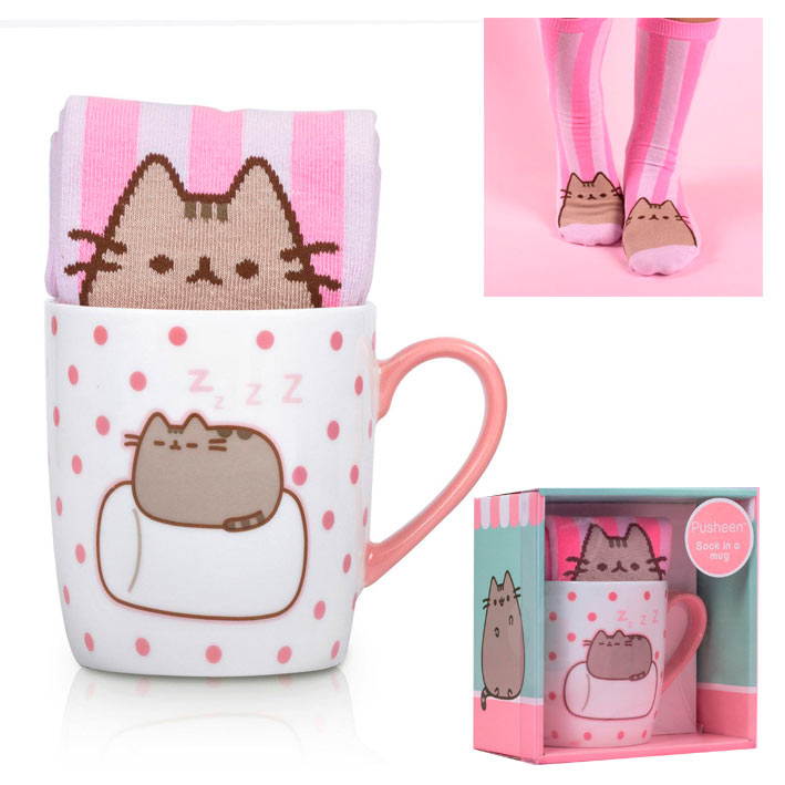 Pack taza más calcetines Pusheen the Cat