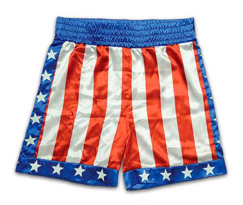 Pantalón de deporte Apollo Creed. Rocky
