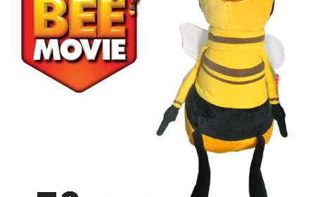 Peluche Barry Bee 70 cms. Bee Movie