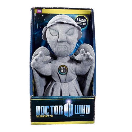 Peluche Doctor Who. Angel llorón 23 cm. Con luz y sonido