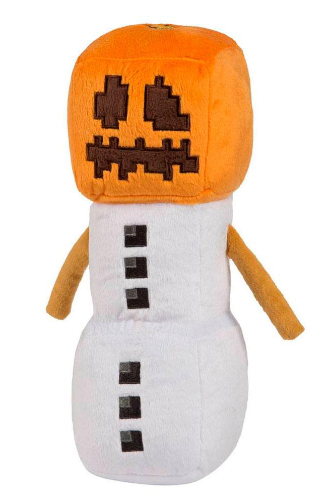 Peluche Snow Golem 29 cm. Minecraft. J!NX