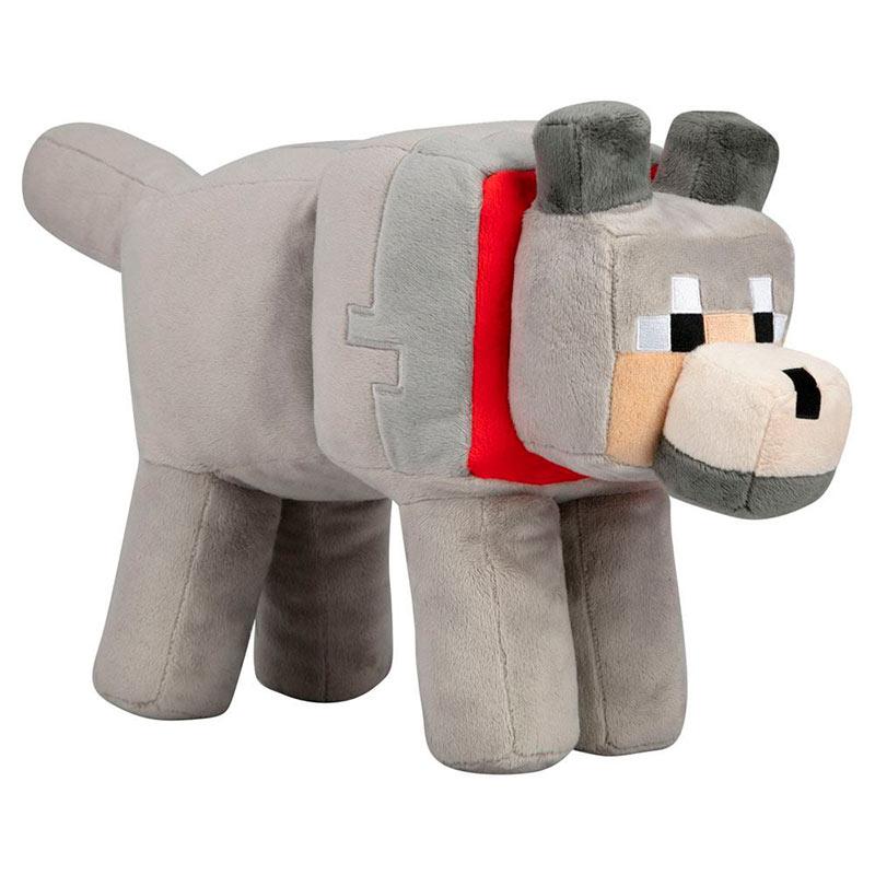 Peluche Tamed Wolf 51 cm. Minecraft. J!NX