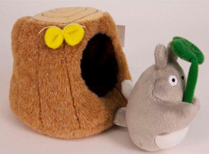 Peluche Totoro Tree Trunk 10 cm. Mi vecino Totoro. Studio Ghibli