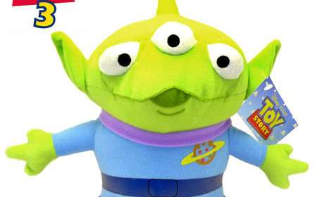 Peluche Toy Story. Alien tres ojos