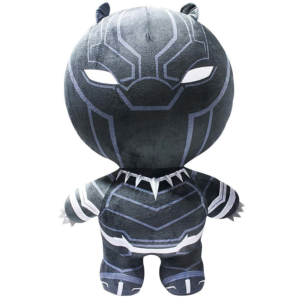 Peluche inflable Black Panther 76 cm. Inflate-A-Heroes. Marvel Cómics