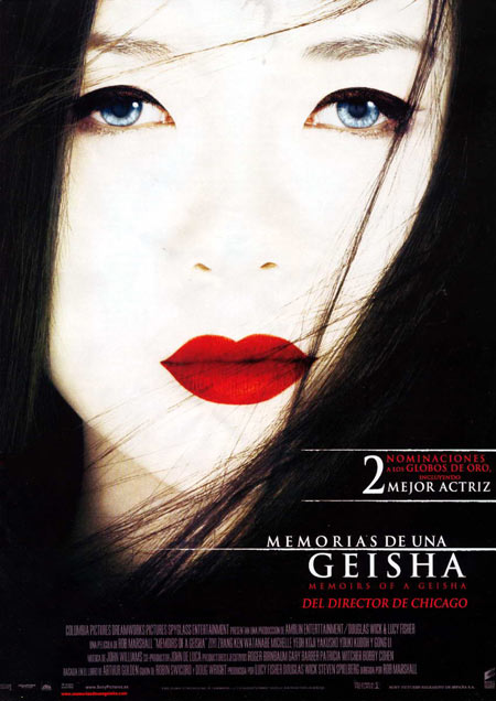 Poster Memorias de una Geisha