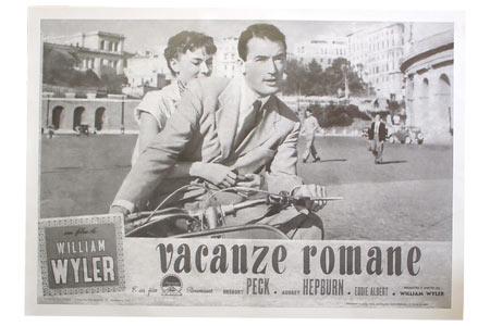Poster vacaciones en Roma