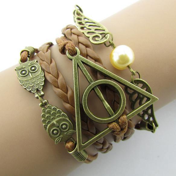 Pulsera emblemas Harry Potter