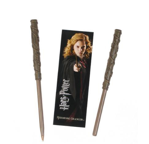 Punto de Libro y Bolígrafo Harry Potter. Hermione