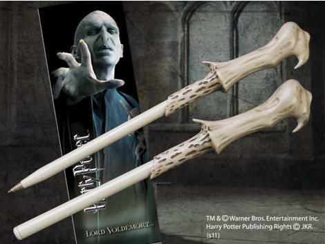 Punto de Libro y Bolígrafo Harry Potter. Lord Voldemort