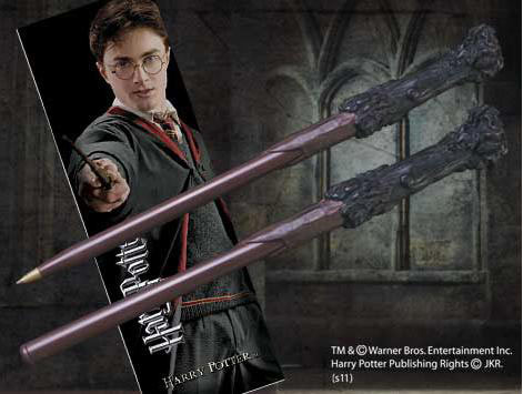 Punto de Libro y Bolígrafo Harry Potter