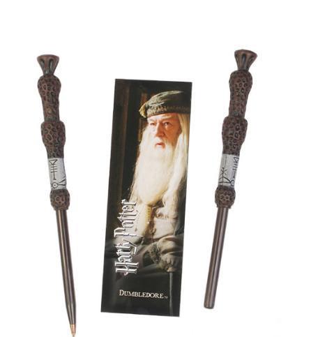 Punto de Libro y bolígrafo Harry Potter. Dumbledore