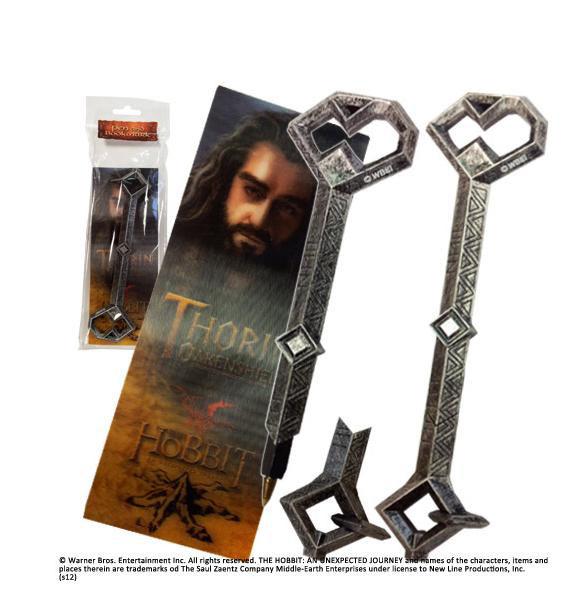 Punto de libro mas bolígrafo ElHobbit. Thorin
