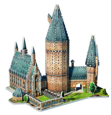 Puzzle 3D Gran Sala. Harry Potter 850 piezas