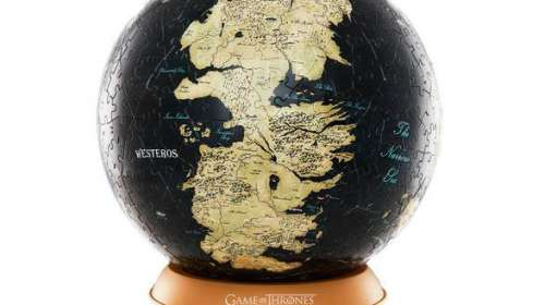Puzzle 3D Juego de Tronos. Globo Mapa de Poniente