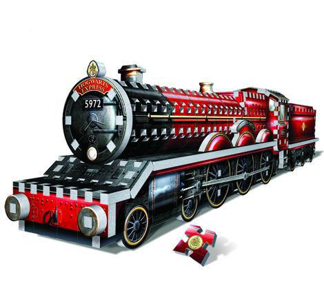 Puzzle 3D Tren Hogwarts Express. Harry Potter 460 piezas
