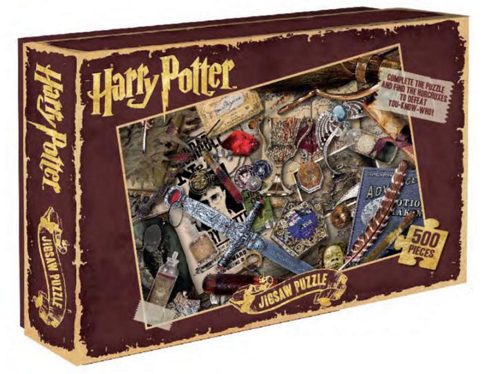 Puzzle Horcruxes. Harry Potter 500 piezas