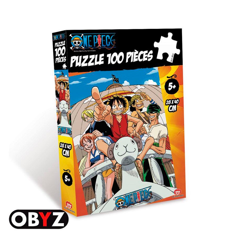 Puzzle One Piece Going Merry. 100 piezas