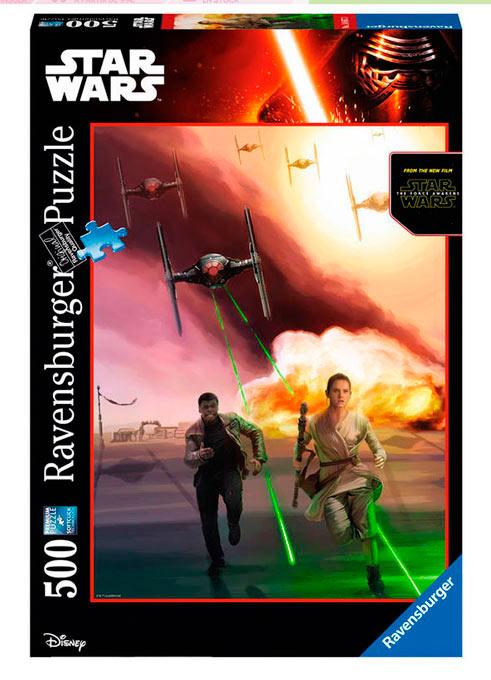 Puzzle Star Wars: El despertar de la fuerza. Ataque Tie Fighter 500 piezas