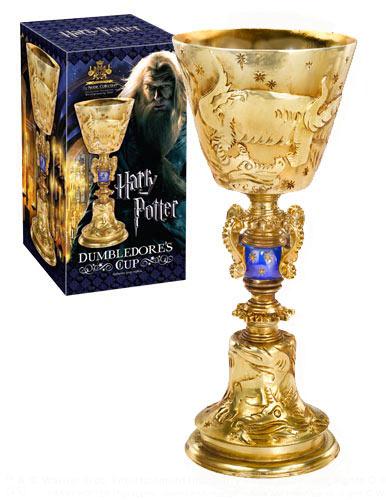 Réplica La Copa de Dumbledore 27 cm. Harry Potter. Escala 1:1 (tamaño real). Noble Collection