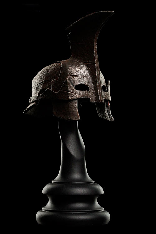 Réplica casco Orco Gundabad 16 cm. El Hobbit: La batalla de los Cinco Ejércitos. Weta Collectibles