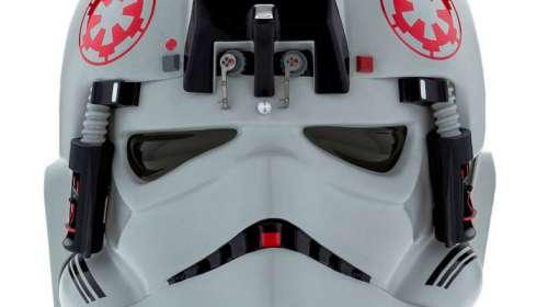 Réplica casco piloto AT-AT. Star Wars: Episodio V - El Imperio contraataca. Escala 1:1. Tamaño real. Anovos