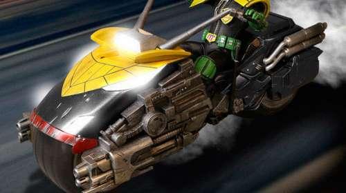 Réplica motocicleta Lawmaster. Con luz y sonido. One:12 Collective