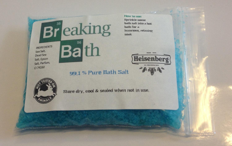 Sales de baño de Breaking Bad