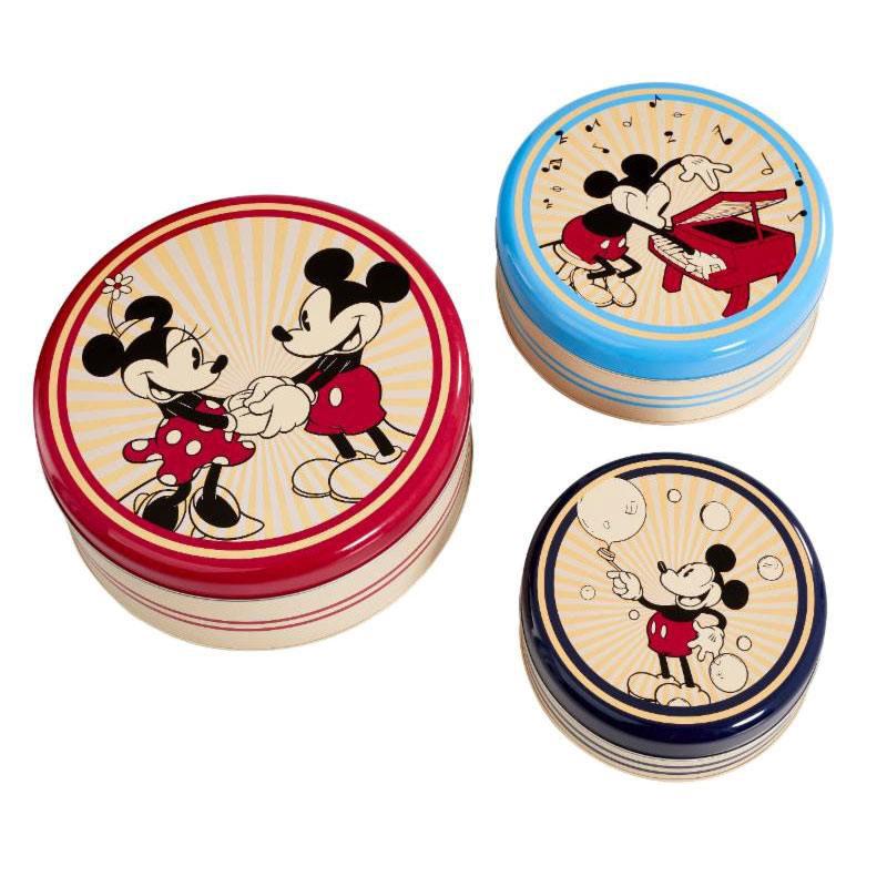 Set 3 cajas almacenamiento Mickey Mouse. Disney