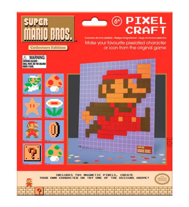 Set 720 imanes Super Mario Bros. Nintendo